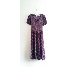 Vintage 1980s Karin Stevens Maroon Floral Print Country Style Primitive Maxi Vest Top Dress Costume Sz 12 Large