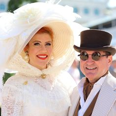 Kentucky Derby Fashion is like no other! Kentucky Derby Fashion, Racehorse, Thoroughbred, Horse Racing, Captain Hat, Photo And Video, Instagram, Color, Colour