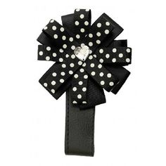 BabyStyle Ribbon-Black Polka BACRIBBLP Beautiful Ribbons  Rossettes from Babystyle suitable for use with Prestige collection.? (Barcode EAN=5060225065418) http://www.MightGet.com/march-2017-1/babystyle-ribbon-black-polka-bacribblp.asp