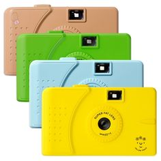 {colourful wide-angle cameras} perfect for taking on a spring stroll!