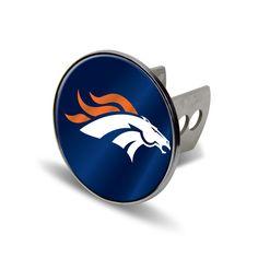 Denver Broncos NFL Laser Cut Hitch Cover