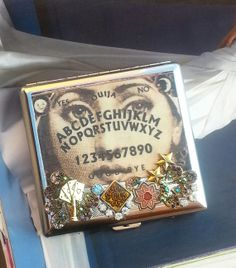 so need to make this...Gypsy Cigarette Case/ID WalletFortune Teller by TheBohemianGypsy, $39.00