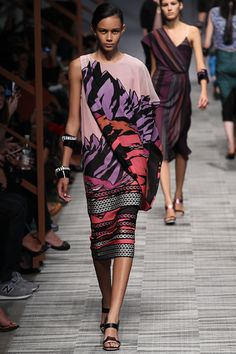 Ethnic Fusion --- Missoni Spring 2014 Ready-to-Wear