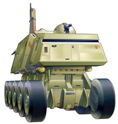 Front view of a A5 Juggernaut.