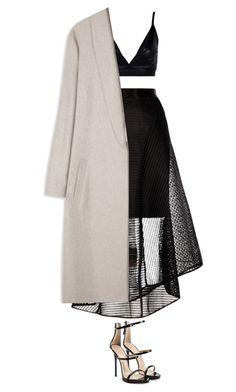 Bez tytułu #229 by keluna on Polyvore featuring polyvore fashion style Boohoo Coast Giuseppe Zanotti clothing