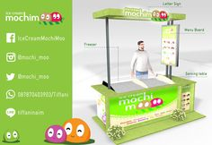 MochiMoo Booth Design. Join with us for franchise.