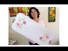 Pintura Textil Para Principiantes Como Pintar En Tela - YouTube Bed Sheet Painting Design, Paint Designs, Drawings, Flowers, Crafts, Youtube, Videos, Color, Canvas Drop Cloths
