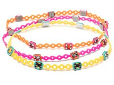 We love these!!! Braced-lets are bracelets made from orthodontic supplies.  We can order some for you at Cornejo Orthodontics in any color! 863-299-6567