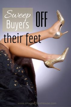 Sweep a Buyer off their feet when selling a home.  #RealEstate #HomeSelling Image: © Photo Tuller – Fotolia.com