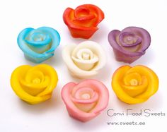 Marzipan Cake Decorations / Roses SR011