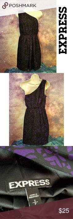 EXPRESS One Shoulder Dress EXPRESS Dress Size Small Express Dresses