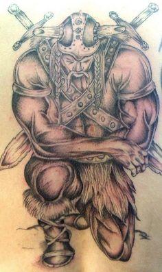 Irish Warriors Tattoos for Men | Warrior tattoo
