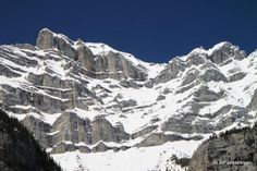 Closeup of Cascade Mountain,  Banff National Park