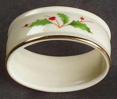 Lenox Holiday (Dimension) Napkin Ring