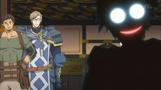 Shiroe - Log Horizon Actually Shiroe is the protagonist but he often makes this face