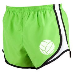 Velocity Volleyball shorts - choose either Lime or Fuchsia colors