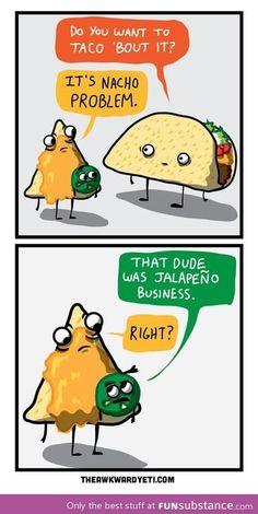 Hahaha! Food humor never fails to make us laugh! #joke #food #funny