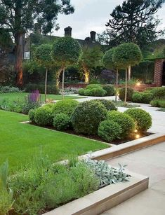 Front garden design Modern garden Contemporary garden Small garden design Beautiful gardens Contemporary garden design - Present day front yard plans are inclining more into the moderate and meag - Modern Front Yard, Small Front Yard Landscaping, Modern Landscaping, Backyard Landscaping, Landscaping Ideas, Backyard Ideas, Modern Planting, Florida Landscaping, Small Front Yards