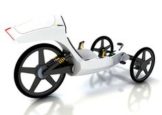 good looking design concept of futuristic bike in black and white | mobility & sport . Mobilität & Sport . mobilité & sport | Design: Lukas Thüring & Florian V