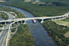 Vietnam Veterans Memorial Bridge, James River - Richmond & Henrico County, Virginia