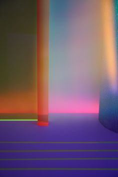 Pippa Drummond and Gozde Eker's colorful, architectural photos were inspired by Barbara Kasten, light artists, Albers' writings on color and Poemotion.