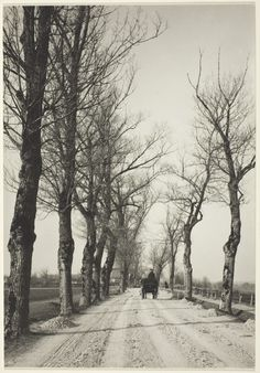 November days, Munich, 1887, photo Alfred Stieglitz. American