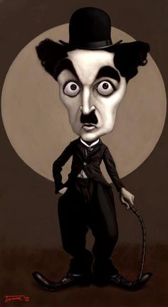 Charlie Chaplin (Caricature) http://dunway.com