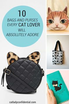 10 Bags and Purses Every Cat Lover Will Absolutely Adore