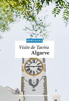 Découvrez Tavira dans le sud du Portugal, ainsi que des villages aux alentours Loulé et Alte. Trois visites incontournables en Algarve. #portugal #algarve #tavira #alte #loulé Algarve, Voyage Europe, Blog Voyage, Road Trip, Ainsi, Places, Light House, France Travel, Portugal Trip