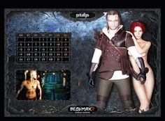 The Witcher 2: Russian Nude Calendar Scans [NSFW] - Click on the Picture for the details