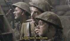 The final scene of Blackadder Goes Forth. | 13 Classic TV Moments That Made You Cry