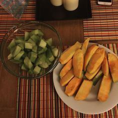 Kesar mango and honey dew melon for dessert! #sw #swmafia #slimmingworld #slimmingworlduk #slimmingworldjourney #slimmingworldfamily #slimmingworldmafia #slimmingworldmeals #slimmingworldmotivation #slimmingworldinsta #slimmingworldinstagram #cleaneating #cleanfood #cleanliving #weighloss #food #foodporn #foodstagram #foodstagram #slimmingworldrecipes by chandnijessica_slimmingjourney