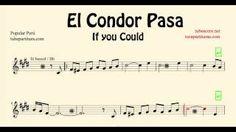 El Cóndor Pasa Partitura de Trompeta, Saxo Tenor, Clarinete, Soprano Sax en Si bemol