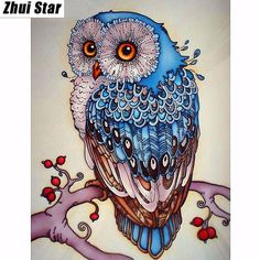 Full,Diamond Embroidery,Animal,Owl,5D,Diamond Painting,Cross Stitch,3D,Diamond Mosaic,Needlework,Crafts,Christmas,Gift ZS-in Diamond Painting Cross Stitch from Home & Garden on Aliexpress.com | Alibaba Group