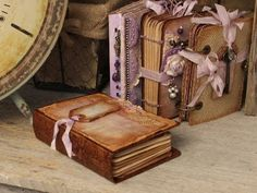 """""""Southern Charm"""" Recycled Box Covers using Stack the Deck Binding Printable Mini Book - YouTube"""