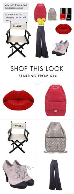 """""""Im so cool i wear chanel"""" by glitterprincess101 ❤ liked on Polyvore featuring Winky Lux and Chanel"""