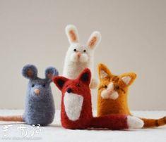 Bricolaje creativo fieltro animales pequeños - www.shouyihuo.com