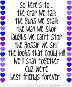 Friendship Quotes And Sayings For Best Friends ~ Bff Quotes On ...