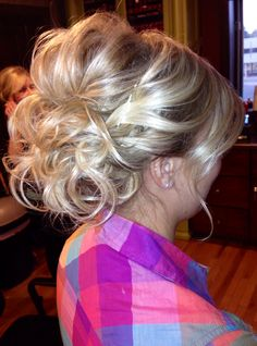 Wedding updo #hair