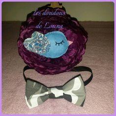 Noeud papillon accessoires bébé fait main les doudous de louna instagram 6euros couture  lesdoudousdelouna@hotmail.com