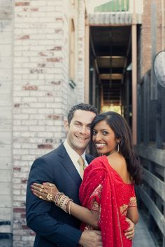Sumana and Adam's Colorful Multicultural Wedding on Style Me Pretty Interracial Family, Interracial Marriage, Interracial Wedding, Indian Marriage, Love And Marriage, Indian Wedding Couple, Wedding Couples, Multicultural Wedding, Romance
