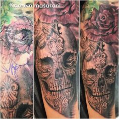 Kareem Masarani (@kareemtattoo) | Coverup I did yesterday. Was a red skull top left. Now a red rose. #coverup#skull#skulltattoo#cross#crosstattoo#tattooart#tattoomag#tattooistartmag#tattooartist#blackandgray#blackworkers#blxckink#bjj#nature#flower#flowertattoo#lagunabeach#healthy#fit#huntingtonbeach#California#newportbeach#newporttattoo#kareemtattoo | Intagme - The Best Instagram Widget
