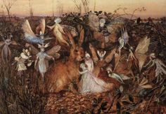 Image detail for -John Fitzgerald - British Fairy Painter and Illustrator