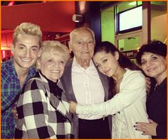 Frankie Grande Has An Early Birthday Dinner With His Family Frankie Grande, Ariana Grande, Family Bonding, Birthday Dinners, Role Models, Celebrity News, Victorious, Love Her, Couple Photos