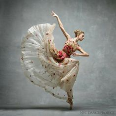 Ballerina and the dress...