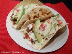 Caceroladas: Burritos de carne picada