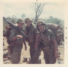 22nd Infantry Regiment, 4th Infantry Division troops, 1969 ~ Vietnam War