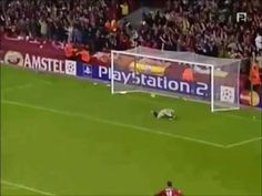 Steven Gerrard - perhaps Liverpool's greatest ever midfielder - prompting perhaps the most over-the-top commentator reaction ever. lol. Love it.