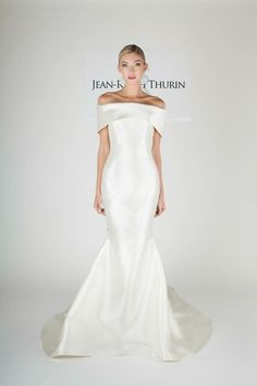 form fitting structured gown