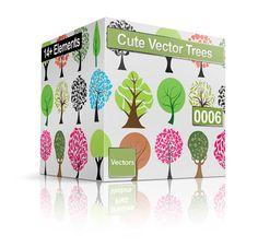 Decorative Vector Trees